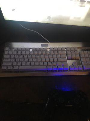 Blue Light up mechanical keyboard for Sale in New Iberia, LA