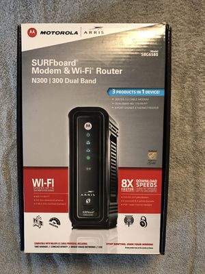 Motorola Surfboard Modem WiFi Router for Sale in Anaheim, CA