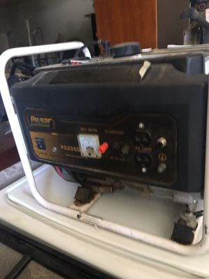 Used gas generator in good condition for Sale in Victorville, CA