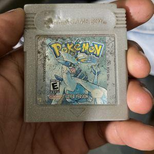Pokémon Silver Version Authentic for Sale in Glendale, AZ