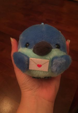 Blue jay plushie for Sale in Everett, WA