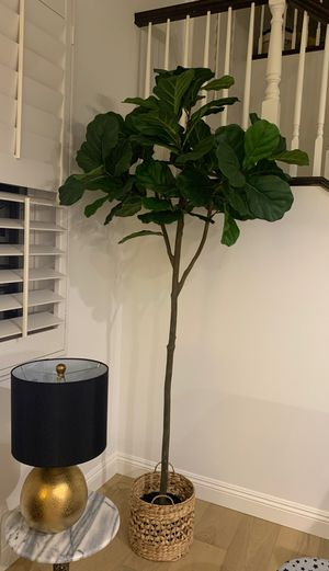 Faux Fiddle Leaf Fig Tree for Sale in Huntington Beach, CA