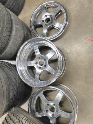 19 in asanti wheels 3 piece only three of them for Sale in Saint Charles, MO