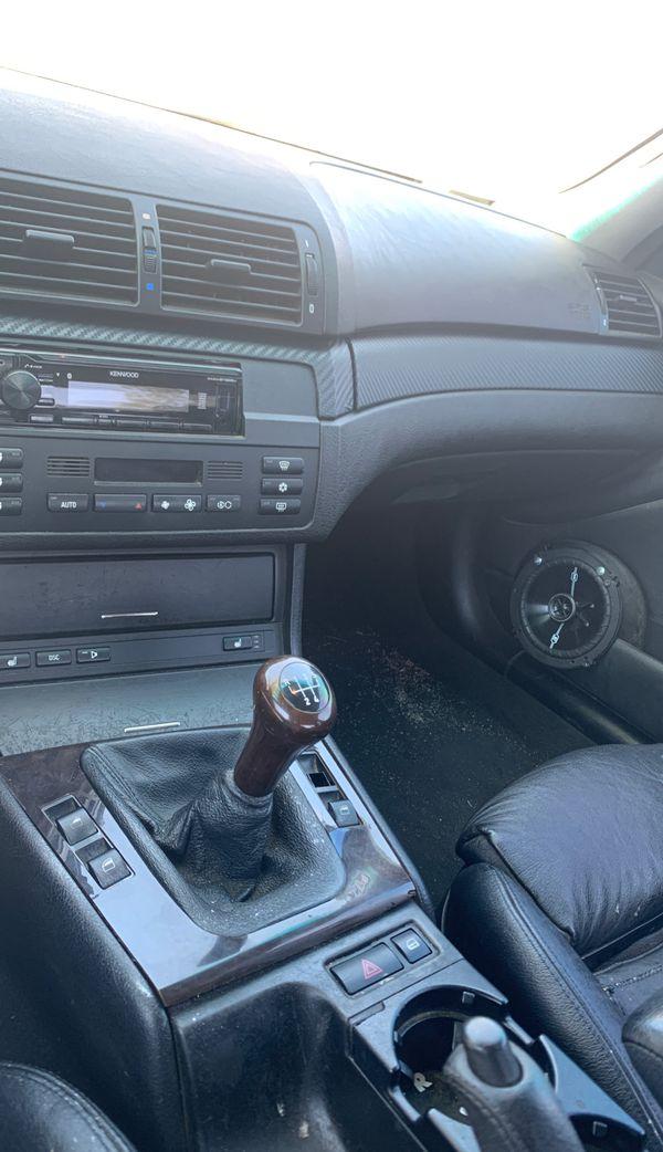 Bmw e46 325i manual coupe