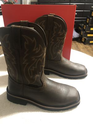 WOLVERINE RANCHER WORK BOOTS STEEL TOE for Sale in Los Angeles, CA