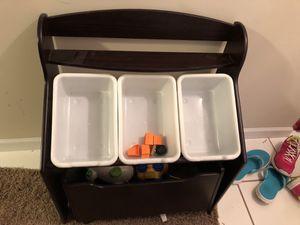 Kids toy bin on wheels for Sale in Affton, MO