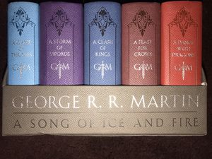 Game of thrones books for Sale in Santa Ana, CA