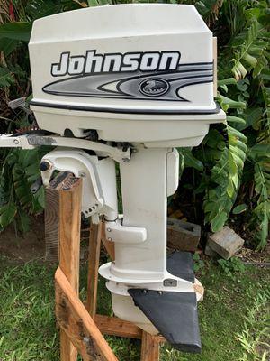 2001 Johnson 25 hp 2 stroke long shaft outboard motor for Sale in Honolulu, HI