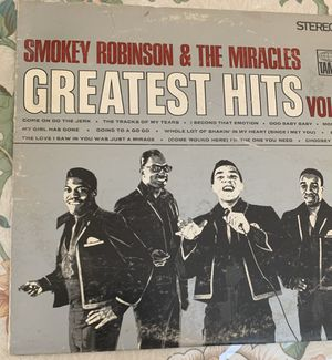 1967 Smoky Robinson & The Miracles Greatest Hits vol. 2 vinyl for Sale in North Highlands, CA