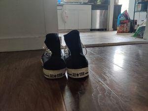 Black Hi-Top All-Star Converse for Sale in Denver, CO