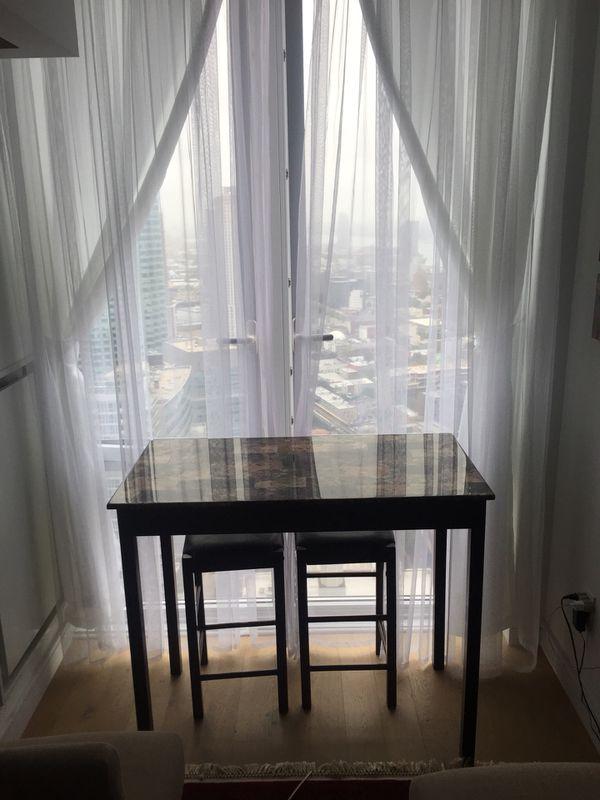 Bar Height Table $100
