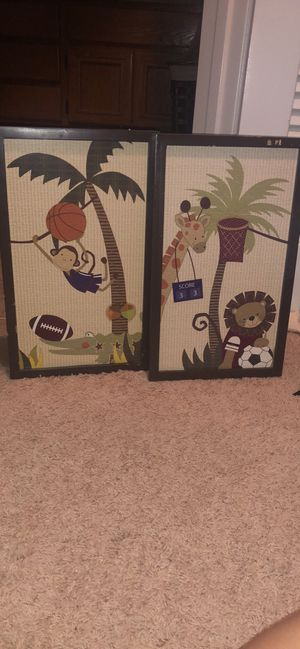 Baby boy room decor and wall art for Sale in San Diego, CA