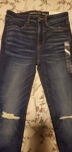 New with tags , American Eagle jeans size 6 for Sale in Bellflower, CA