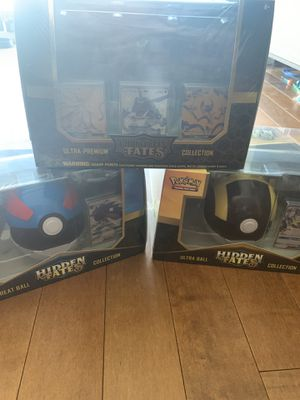 Hidden Fates Collections Pokemon All Factory Sealed! for Sale in Los Angeles, CA