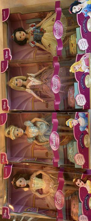 Four Disney Keepsake Dolls for Sale in Annapolis, MD