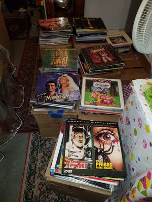LASERDISC MOVIES...NEGOTIABLE for Sale in Queens, NY