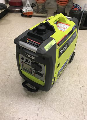 Ryobi 1800 /2300 watts Bluetooth gas GEN controller generator for Sale in Austin, TX