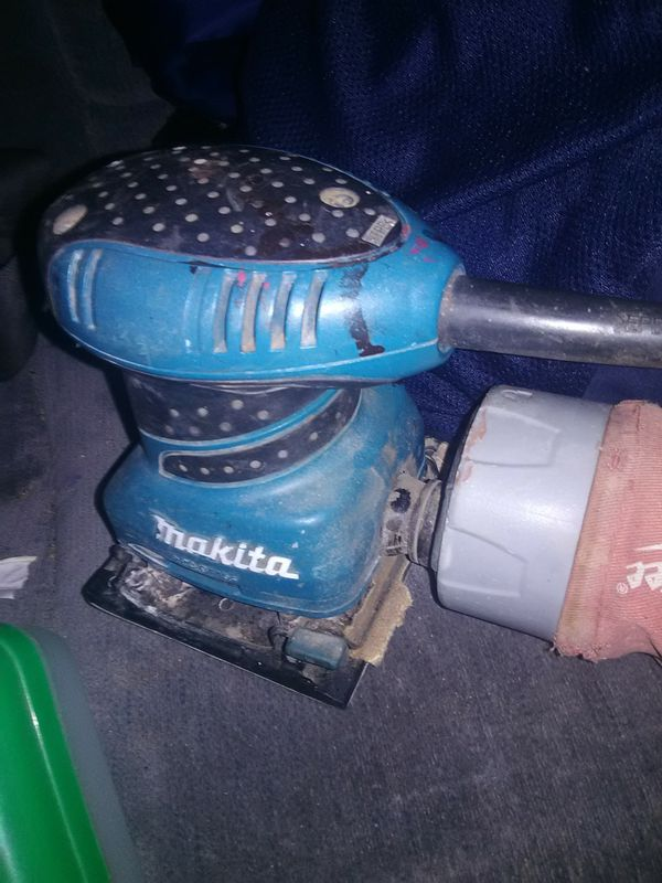 Makita BO4556 2 Amp Contoured Precision Finishing Sander