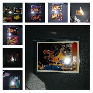 Kobe Bryant Rookie cards 15 card lot for Sale in Sun City, AZ