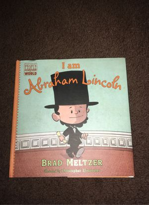 i am abraham lincoln book for Sale in Huntington Park, CA
