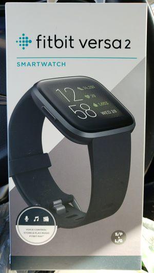 Fitbit Versa 2 Smart Watch / Black for Sale in Hartford, CT