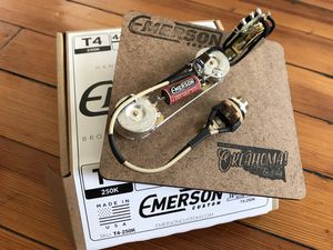 Emerson Custom 4-way telecaster prewired assembly, brand new for Sale in Norfolk, VA