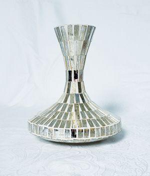 Golden Glass Vase for Sale in St. Cloud, FL