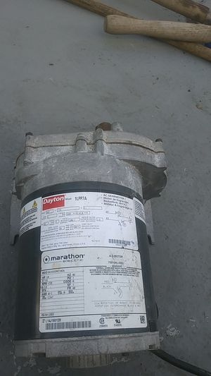 Low speed motor 6 trn/min ( Dayton) for Sale in Fort Lauderdale, FL