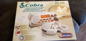 Cobra Marine MR F45 Radio for Sale in Hayward, CA