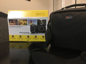 Nikon D3200 DSLR Camera-Carrying Case-16GB memory stick for Sale in Kissimmee, FL