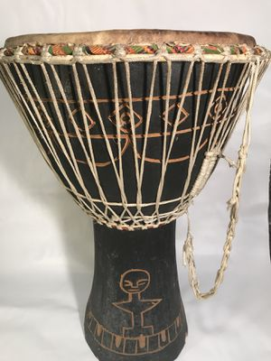 African Drum - 2ft tall for Sale in Concord, MA