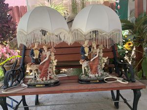 2 Fancy Italian Collection Lamps for Sale in Montclair, CA