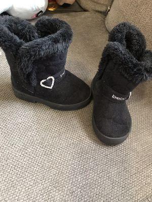 Toddler girl Bebe boots for Sale in Hamlin, NY