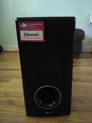 LG Wireless Active Subwoofer for Sale in Falls Church, VA