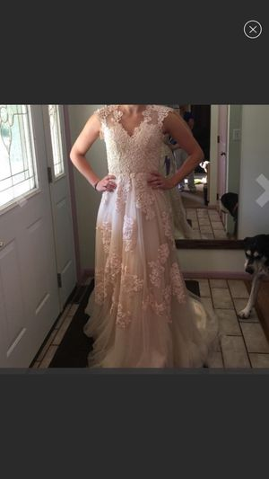 Beautiful blush dress for Sale in Frederick, MD