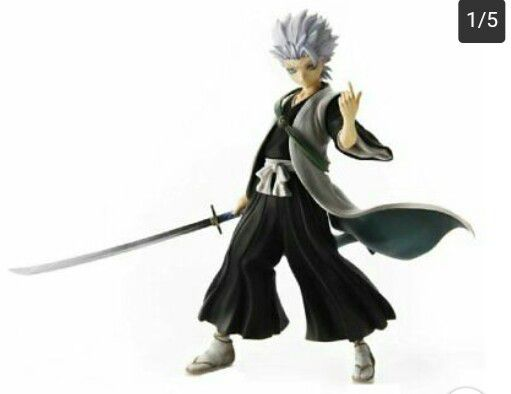 BLEACH Hitsugaya Toshiro Figure USED G.E.M Series Megahouse Anime