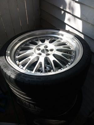 19 rims for sale 5x100 have to fix one rim for Sale in Harrisburg, PA