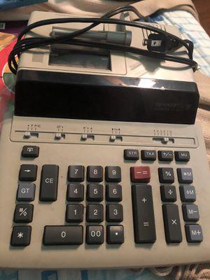 Sharp compet printer calculator for Sale in Fresno, CA