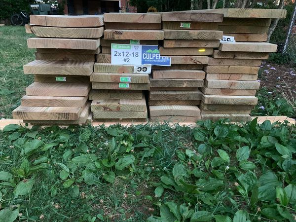 2x12 x18' there are 52 in total.