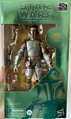 Star Wars Black Series Exclusive Carbonized Boba Fett Figure for Sale in Clovis, CA
