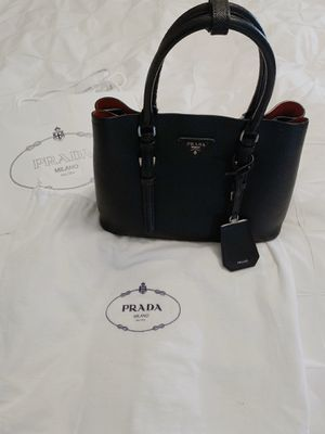 Prada Double Bag (Saffiano Leather Handbag/ Crossbody) for Sale in San Diego, CA