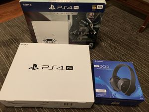 Limited Edition PS4 PRO for Sale in Rancho Cucamonga, CA