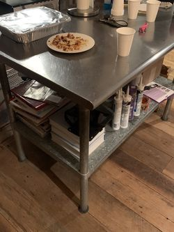 Stainless Steel Chef Prep Table for Sale in Valley Stream,  NY