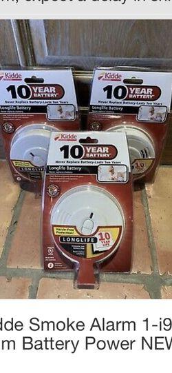 Two 4 Packs Of Kiddie 10 Year Smoke Dectectors for Sale in West Berlin,  NJ