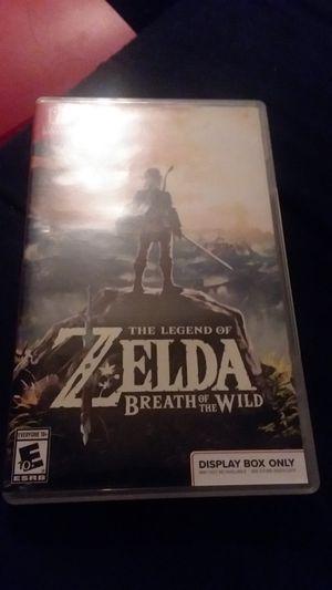 Zelda BOTW for Sale in Tempe, AZ
