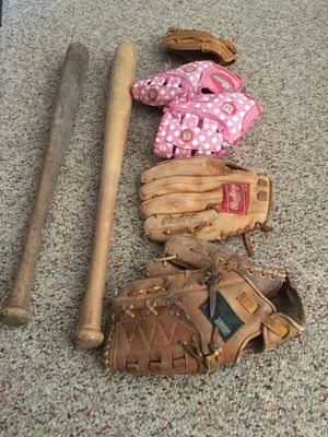 Baseball Bats and Gloves for Sale in Bensenville, IL