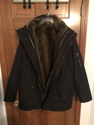 S13 Men's Fur-Lined Parka XXL for Sale in Sheffield, OH