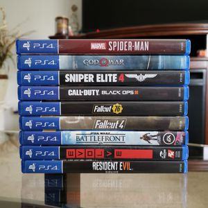PS4 games for Sale in Hanover Park, IL