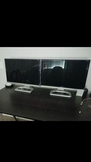Gateway desktop computer with 2 HD monitors for Sale in Phoenix, AZ