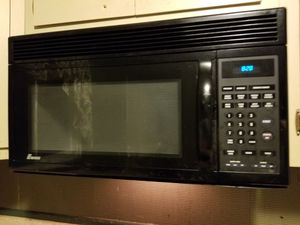 Black Ewave over the range microwave for Sale in Stratford, NJ